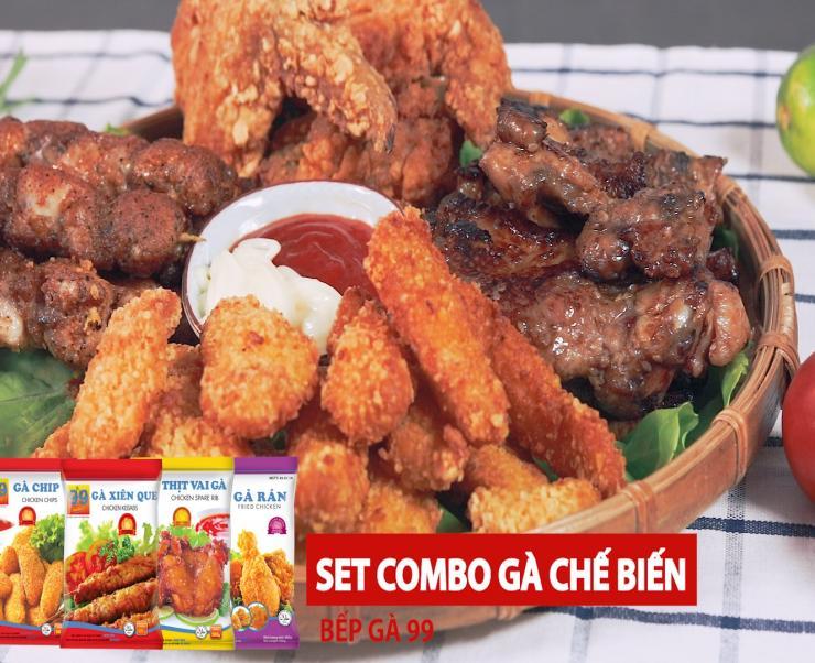 Set Combo 4 món cho ngày lễ 30 tháng 4 - vạn người ăn triệu người mê.